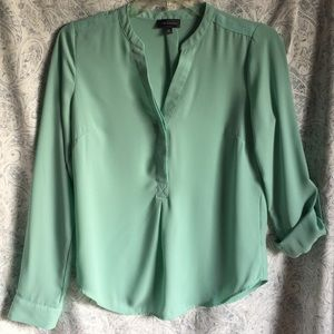 The Limited Teal Blouse